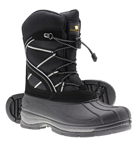 - Arctic Shield Mens Warm Comfortable Waterproof Durable Outdoor Winter Snow Boots (11)