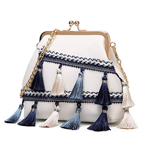 Sac Mode Style Palace épaule Blanc Diagonale Sac Shell Gland ZHRUI beauté élégant Sac Femme de qZxnCqzOw