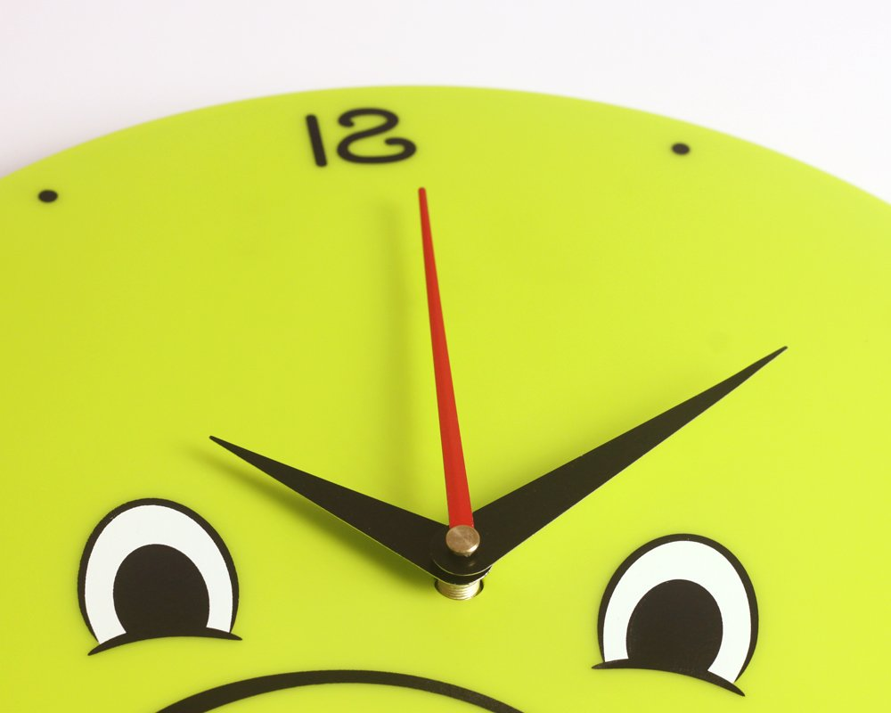 WallElf Bombom Rex Kids Room Wall Decal Clocks TM