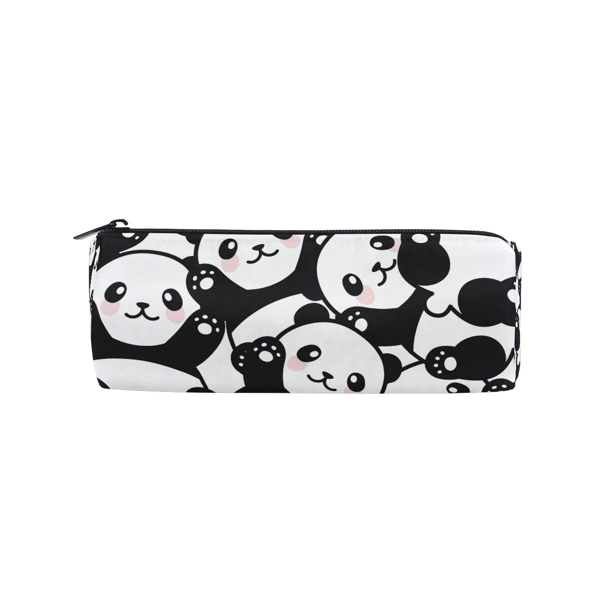 Funnyy - Estuche para lápices con diseño de panda niños con forma de cilindro para niños panda y niñas 69ed05