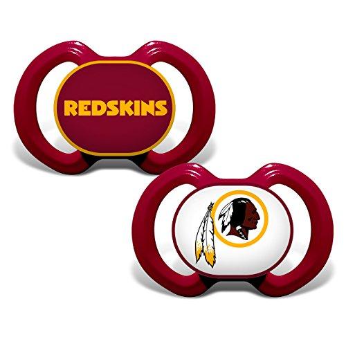 NFL Washington Redskins 2 Pack Pacifier ()