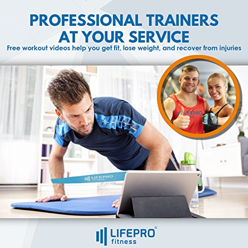 LifePro Core Exercise Sliders Gliding Discs - Fitness Equipment for Low Impact, Full Body and Ab Workout - Dual Sided Slides on Any Floor - Free Manual, Personal Training Home Videos & Storage Bag by LifePro (Image #6)