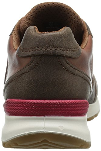 ECCO CS14, Women's Sneakers Cocoa Brown/Mahogany/Tomato (Cocoa Brown/Mahogany/Tomato59366)