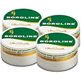 Boroline Ultra Smooth Antiseptic Night Cream, 40gms in Pot Combo pack of 4 (40gms X 4)
