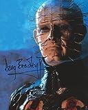 Hellraiser Signed Autographed Doug Bradley as Pinhead 8x10 Photo -  Image Entertainment
