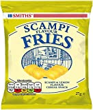 Smiths Savoury Selection Scampi & Lemon Flavour Fries, Cereal Snacks 27 g (Pack of 24)