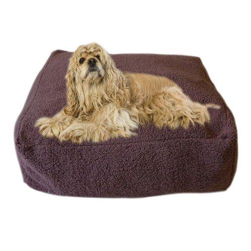 Carolina Pet Co 30'' Chocolate Cloud Pouf Bed by Carolina Pet