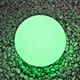 Best Floating Pool Lights - Airsee LED Ball Light, 8-inch 16 Colors Mood Review