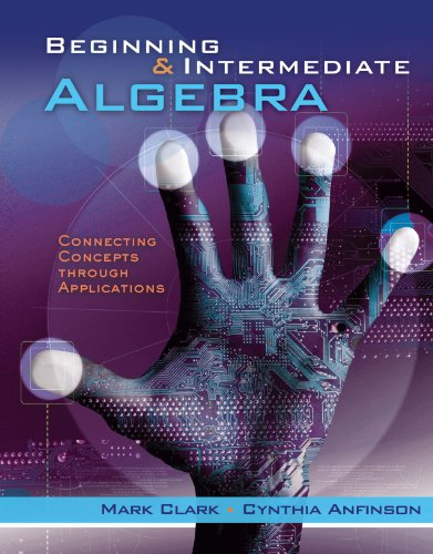 Download Beginning and Intermediate Algebra: Connecting Concepts Through Applications (New 1st Editions in Mathematics) Pdf