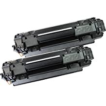2 Inkfirst® Toner Cartridges CE285A (85A) Compatible Remanufactured for HP CE285A Black LaserJet Pro P1102 P1102w M1130 M1132 M1134 M1136 M1137 M1138 M1139 M1212f M1212nf M1213nf M1214nfh M1216nfh M1217nfw M1219nf