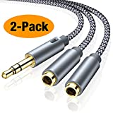 Best Headphone Splitters - Headphone Splitter, oldboytech 3.5mm Stereo Audio Splitter [2-Pack,Hi-Fi Review
