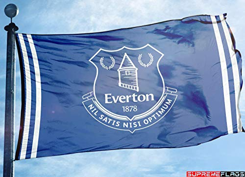 (Everton Flag Banner 3x5 England British UK Premier Football Soccer)