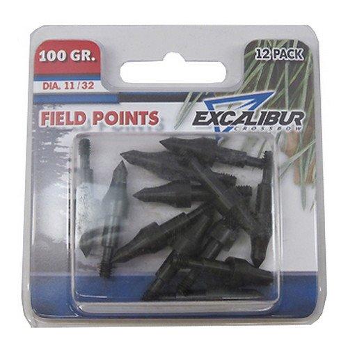 (Excalibur Field Points, 21/64, 100 Gr. 12pk (Tp100-12))