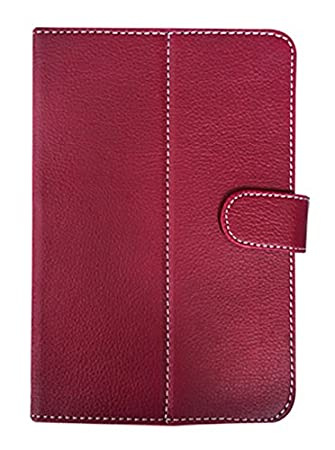 Fastway Flip Cover for Stellar Slate Pad Mi 725  DarkRed
