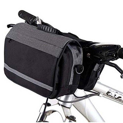 Multifunktionale Fahrrad-Fahrt Tasche einzelner Schulter-Beutel Frontseiten-Schlauch-Beutel Schwarz-Weiss