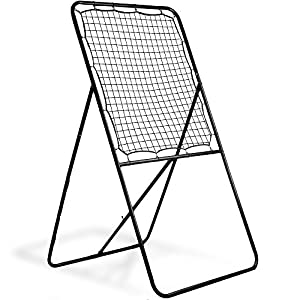 Multi-Position Extra-Wide Lacrosse Rebounder by Crown Sporting Goods