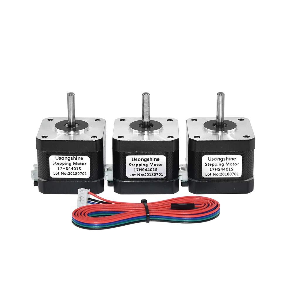 UsongShine - Motor paso a paso Nema17 de 40 mm, motor Nema 17 ...