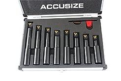 Accusize Industrial Tools 8 Pc 3/4'' Rou...