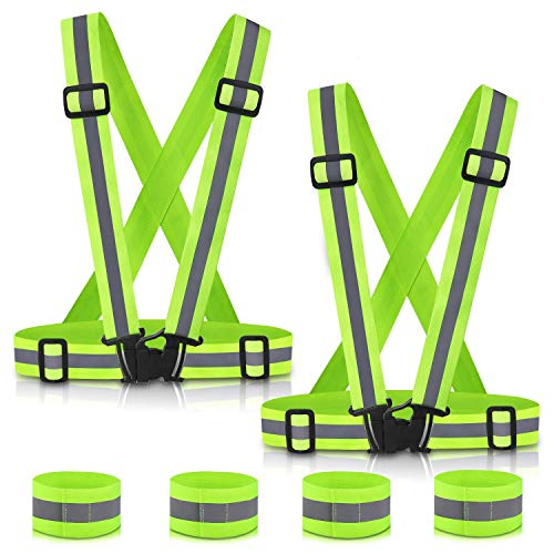 SAWNZC Reflective Vest Running Gear 2Pack