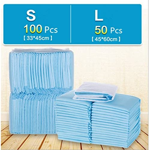 Drasawee 50/100Pcs Comfort Fit Disposable Small/Large Dog Pet Diapers Training Pads high-quality