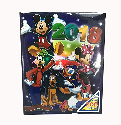 Disney Album - Disney Exclusive 2018 Mickey & Gang Photo Album Holds 200 4 Photo Size Up To 4