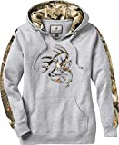 Legendary Whitetails Women's Outfitter Hoodie Athletic Heather X-Small