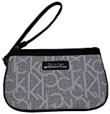Calvin Klein Women's Wristlet Color: White/Black