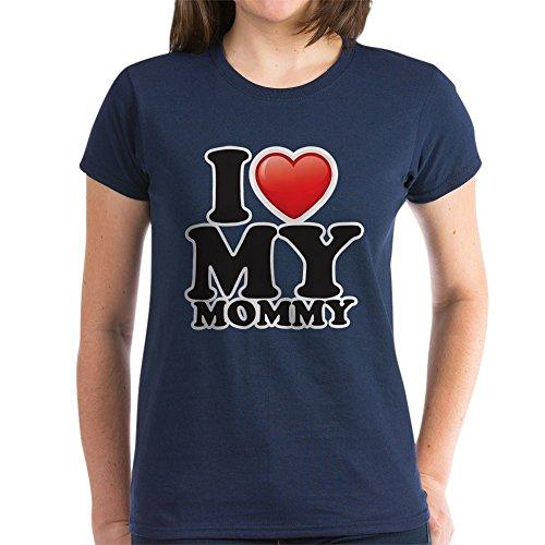 Navy Mom Heart Camo - 1