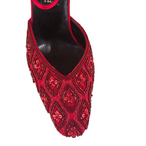 FARFALLA - Zapatos con correa de tobillo mujer Rojo - rojo