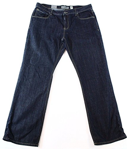 Barcelona Jean (INC Raw Mens 32X30 Barcelona Relaxed Fit Denim Jeans Blue)