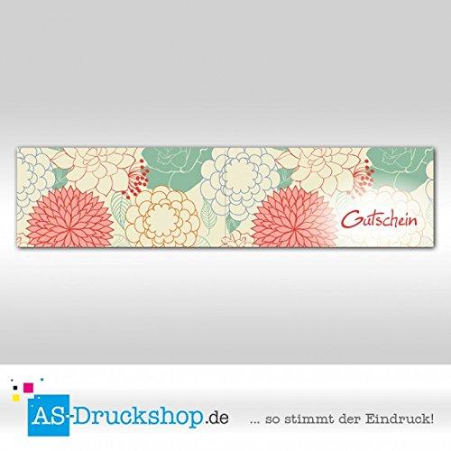 Gutschein Floristik - Blaumenmandala   100 Stück     DIN Lang B07952HRZT | Stilvoll und lustig  00dfd9