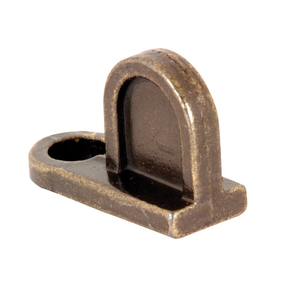 Slide-Co 182950 Flush Window Screen Clip, Bronze,(Pack of 12)