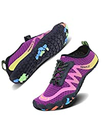 UMYOGO Men Women Water Sports Shoes Quick Dry Barefoot Aqua Socks Swim Shoes for Pool Beach Walking Running