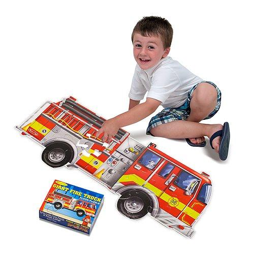 Giant Fire Truck 24-Piece Floor Puzzle