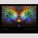 Rainbow Photo Spiritual Peace Print Psychedelic Picture Art Healing Art