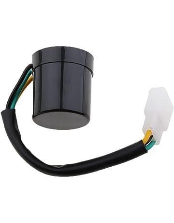 Shiwaki Rele Del Intermitente Universal De 3 Pernos Del LED Para El Intermitente Del