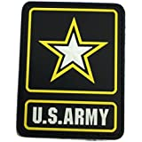 COLOR US ARMY LOGO PVC PATCH