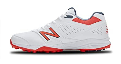 7176b6357a308 New Balance Men's CK4020B3 Full Rubber Spike Cricket Shoes (10 UK/India)