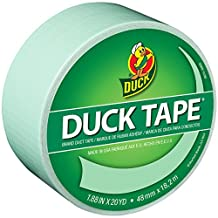 "Duck Brand 240979 Color Duck Tape, 1.88"" by 20 yd, Single Roll, Pastel Green/You're a Sage"