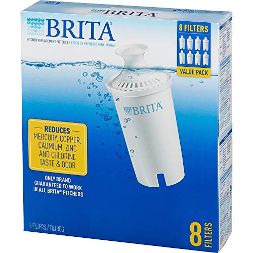 Brita 766229 Pitcher Replacement Filters, 8-Pack …