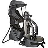 Clevr Cross Country Baby Backpack Carrier with Stand...