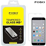 """FOSO(™) Meizu M2 Note (5.5"""" inch) 9H Hardness Toughened Tempered Glass Screen Guard Protector"""
