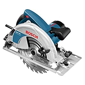 Bosch GKS 85 Professional - Sierra circular, llave allen, tope paralelo con adaptador de aspiración (2200 W, diámetro del disco de sierra 235 mm)