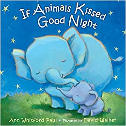 If animals kissed good night vegan children books