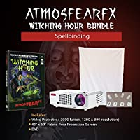 Atmosfearfx Witching Hour DVD, 3000 Lumen Projector Video Projector