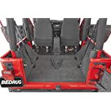 Bedrug BRTJ97R Rear Cargo Liner Kit for Jeep Wrangler TJ