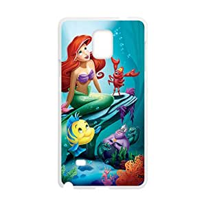 New Style Custom Picture The Little Mermaid Cell Phone Case for Samsung Galaxy Note4