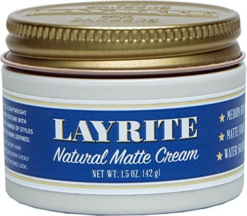 Hair Styling: Layrite Natural Matte Cream