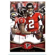 2012 Topps Football Card #166 Atlanta Falcons Atlanta Falcons