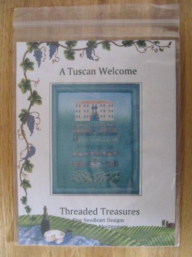 A Tuscan Welcome Counted Cross Stitch Pattern Designed by Joann Pfeifer Montgomery - Joann Cross Stitch